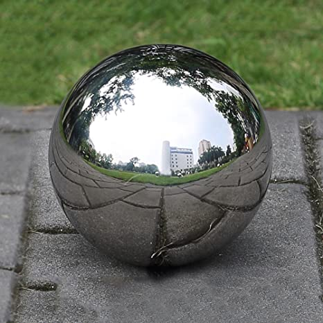 Superbe PROKTH Gazing Ball, 300mm Hollow 304 Stainless Steel Exercise Balls Gazing  Globes Floating Pond Balls