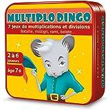 Aritma MultiploDingo - Jeux de cartes, Table de Multiplications
