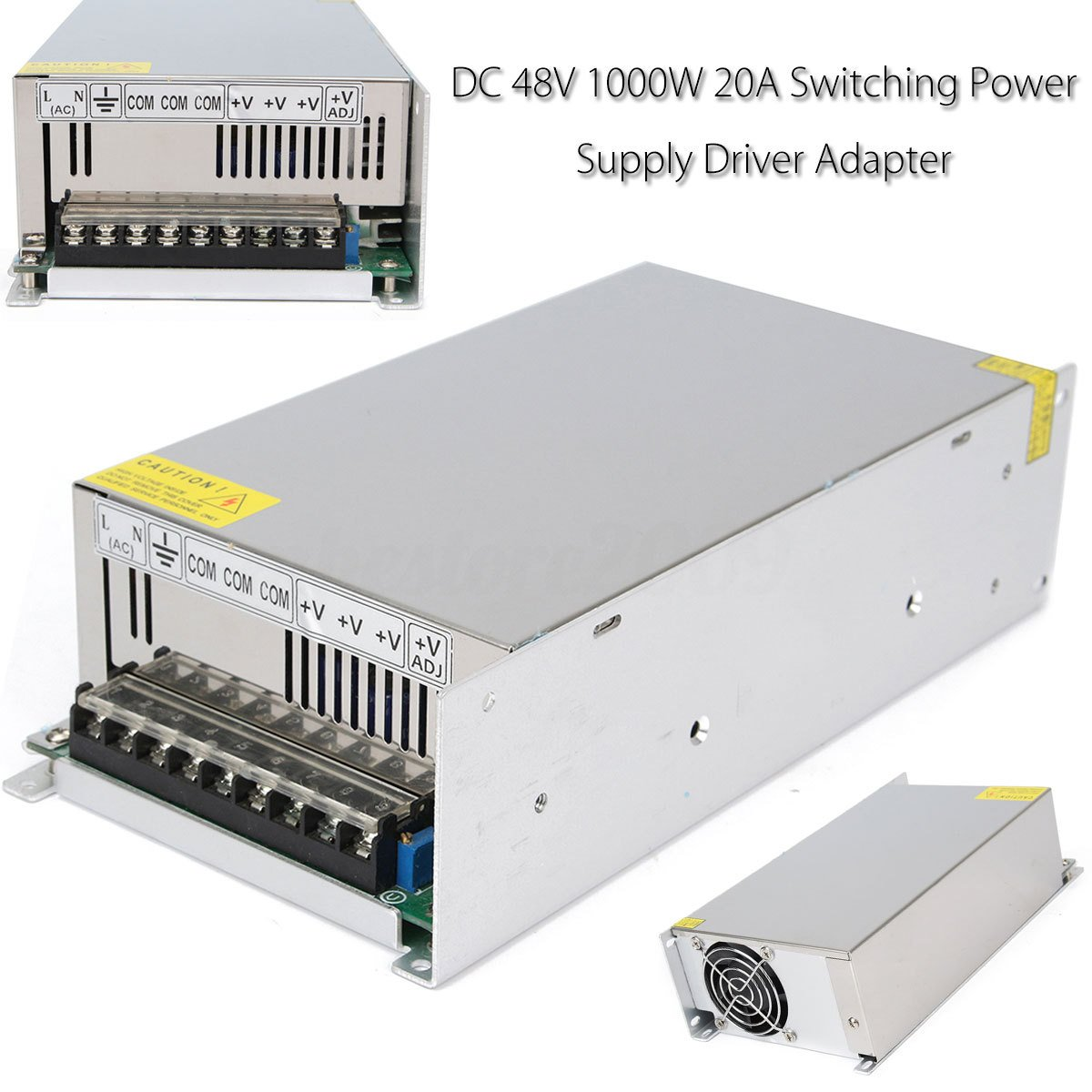 48V 20A 1000W Universal Regulated Switching Power Supply Driver for CCTV camera LED Strip AC 100-240V Input to DC 48V