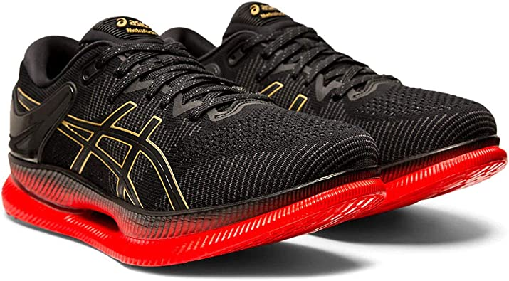 red asics running shoes