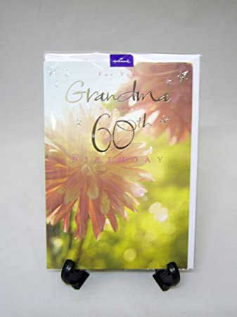 Amazon hallmark grandma 60th birthday card office products hallmark grandma 60th birthday card bookmarktalkfo