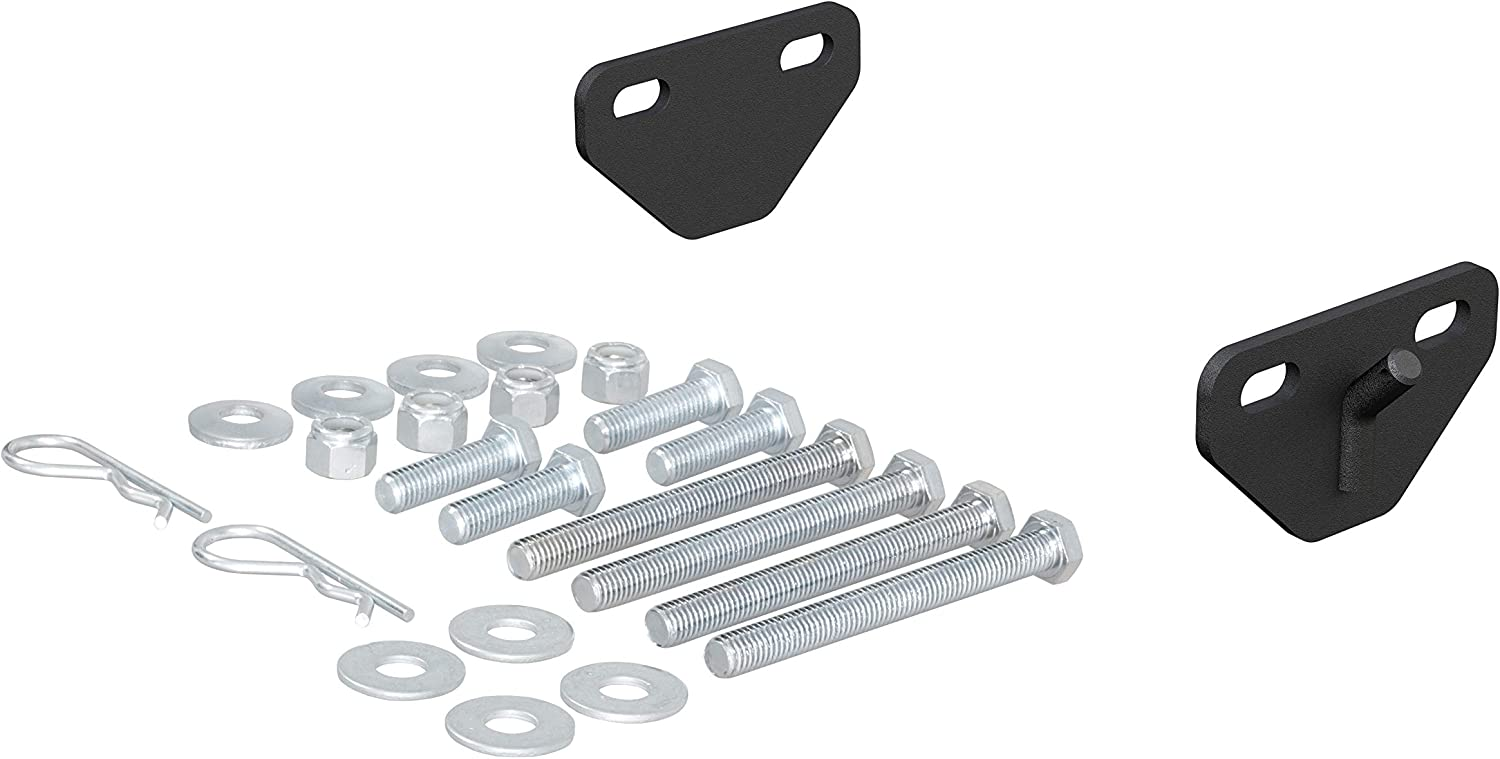 CURT 17005 Weight Distribution Bolt-On Hookup Brackets