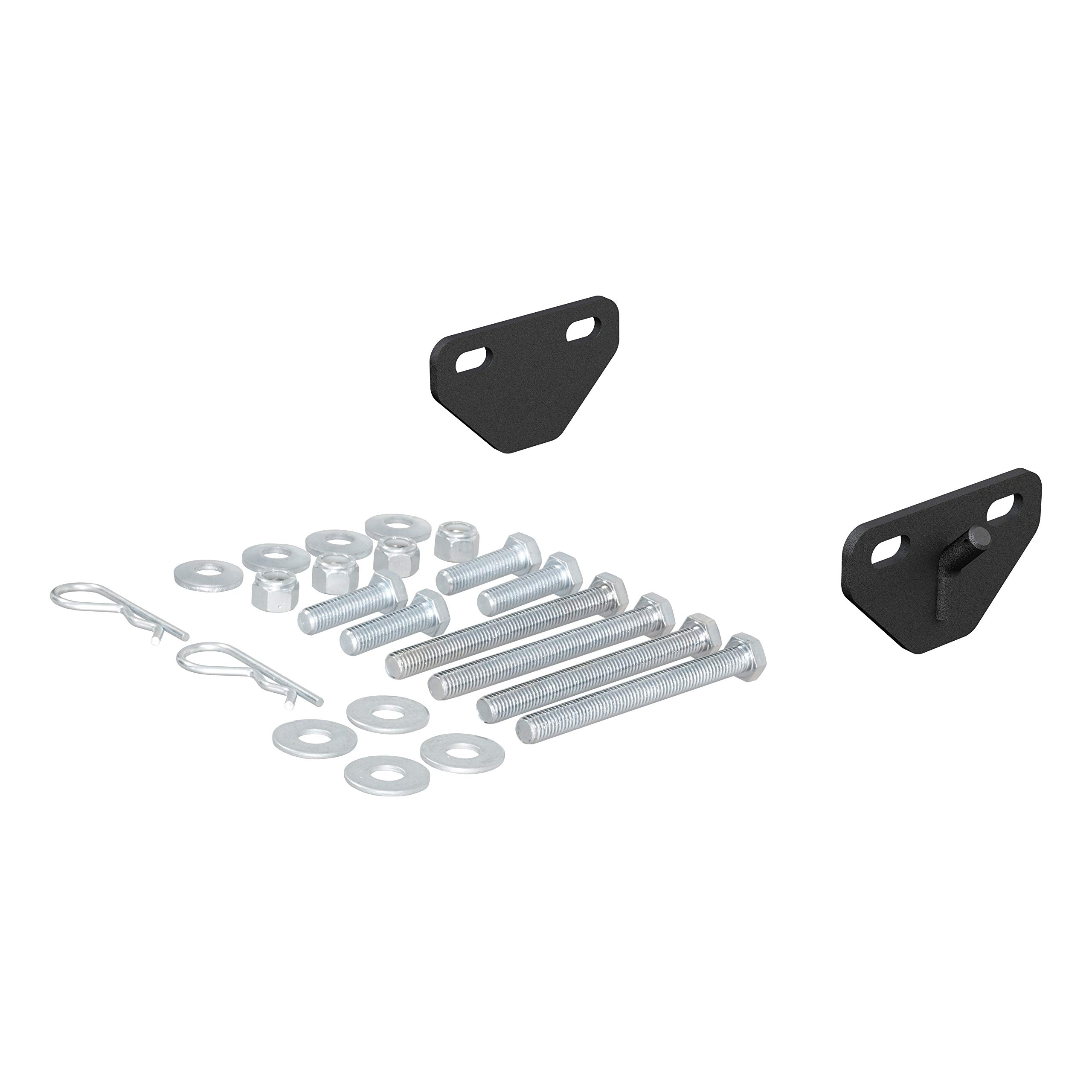 CURT 17005 Weight Distribution Bolt-On Hookup Brackets by CURT