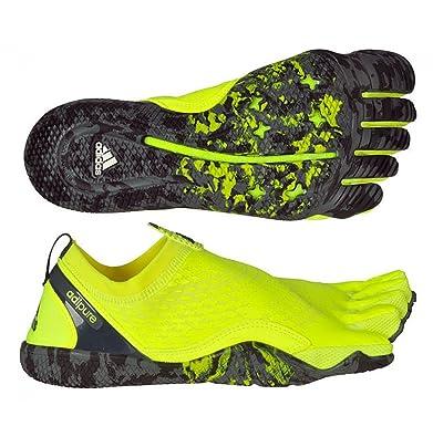 85ab609e0e4 Adidas Men Neon Yellow Adipure Trainer 1.1 Sports Shoes (UK 10)   Amazon.co.uk  Shoes   Bags