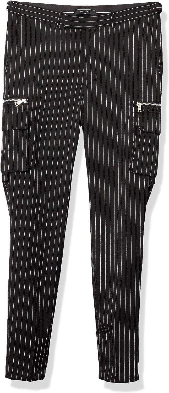 Forever 21 Pantalones Cargo A Rayas Pantalones Casuales Para Hombre Amazon Com Mx Ropa Zapatos Y Accesorios