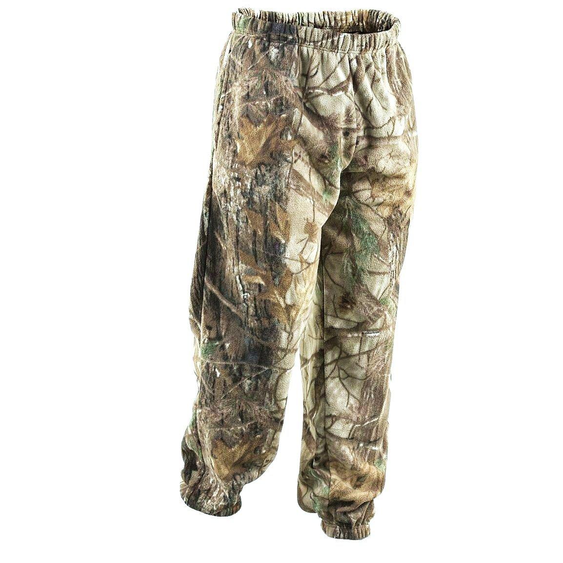 en Polaire /épaisse pour Homme Motif Camouflage Pantalon de surv/êtement avec Ourlet ferm/é Style Cargo Pantalon de Jogging Sport Casual imprim/é