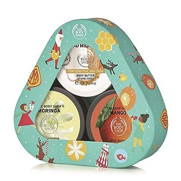 Amazon.com: The Body Shop Body Butter Trio Set de regalo, 3 ...