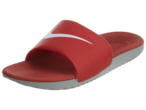 0087cfbfd Nike Men's Kawa Slide Athletic Sandal, University Red/White/Wolf Grey, 9 D  US: Buy Online at Low Prices in India - Amazon.in