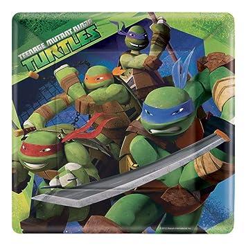 Teenage Mutant Ninja Turtles Party Paper Plates by Amscan ...