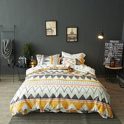 .com: modern boho tribal bedding aztec stripe print cotton ...