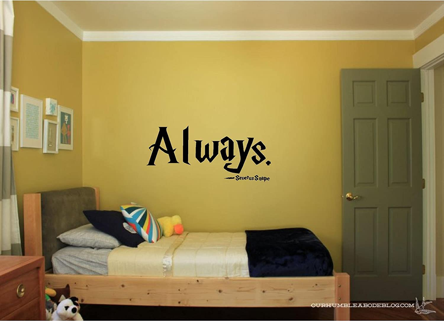 Amazon.com: Quote It   Severus Snape Always   Harry Potter Vinyl Wall Decals  Quotes Inspirational: Home U0026 Kitchen