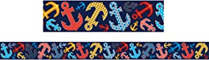 Teacher Created Resources Anchors Straight Border Trim (5476)
