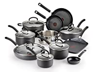 T-fal E918SH Hard Anodized Cookware Set