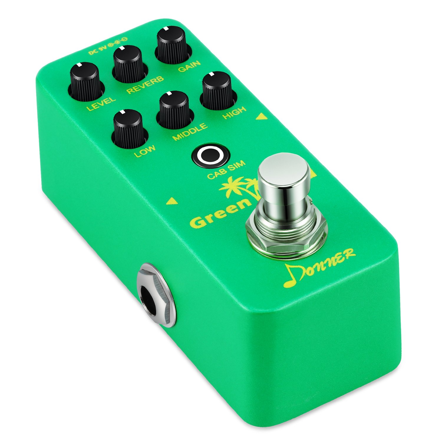 Donner Green Land Mini Electric Guitar Preamp Pedal Effect by Donner