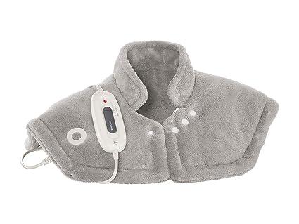 RA-Homestore Silvercrest - Hombrera con calefacción, color gris