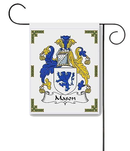 Design Family Coat Of Arms | Amazon Com Carpe Diem Designs Mason Coat Of Arms Mason Family