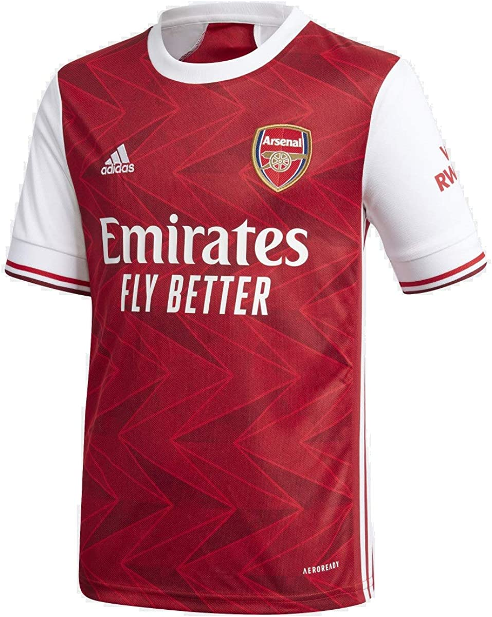 adidas 2020-21 Arsenal Youth Home Jersey