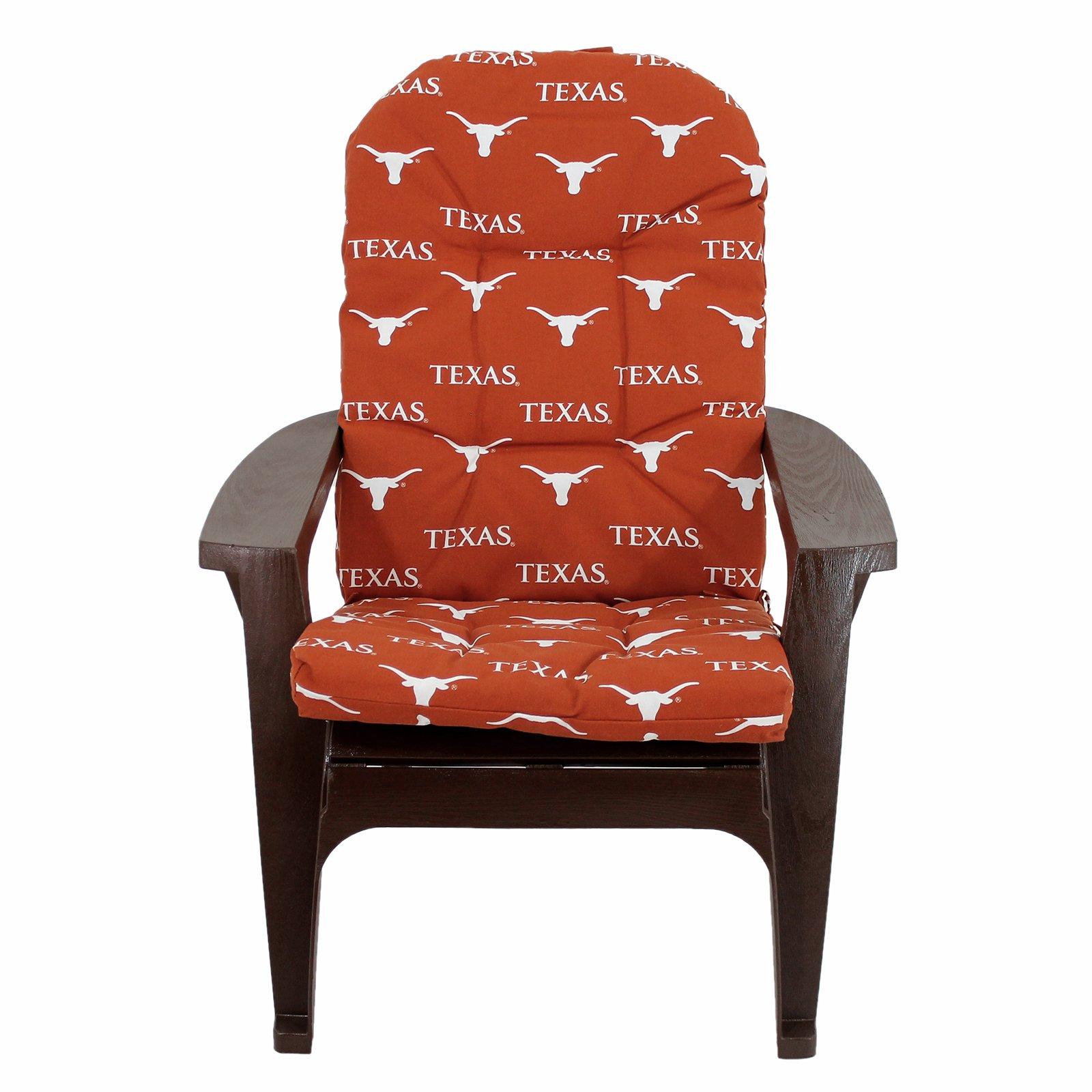 College Covers Texas Longhorns Adirondack Cushion