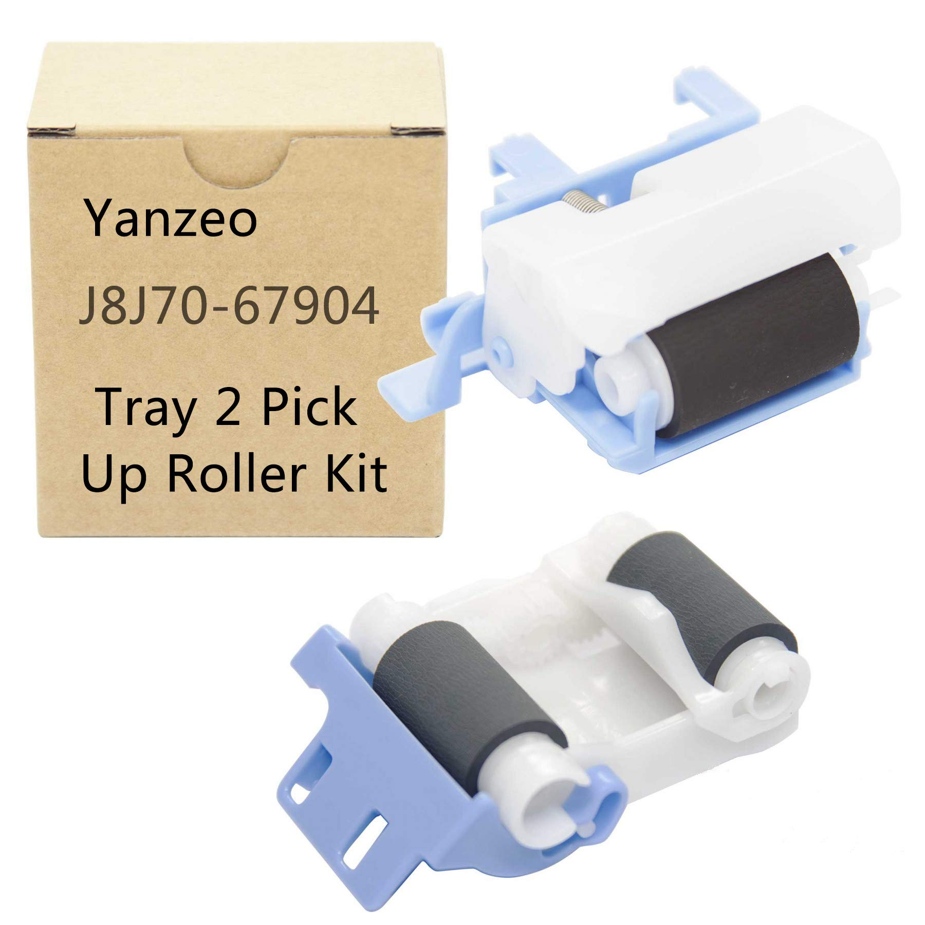 J8J70-67904 RM2-1275 RM2-6772 for HP Laserjet Ent M607 M608 M609 M631 Tray 2 Pick Up Roller by Yanzeo (Image #1)