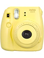 Fujifilm Instax Mini 8 Instant Camera (Yellow) (Discontinued by Manufacturer)