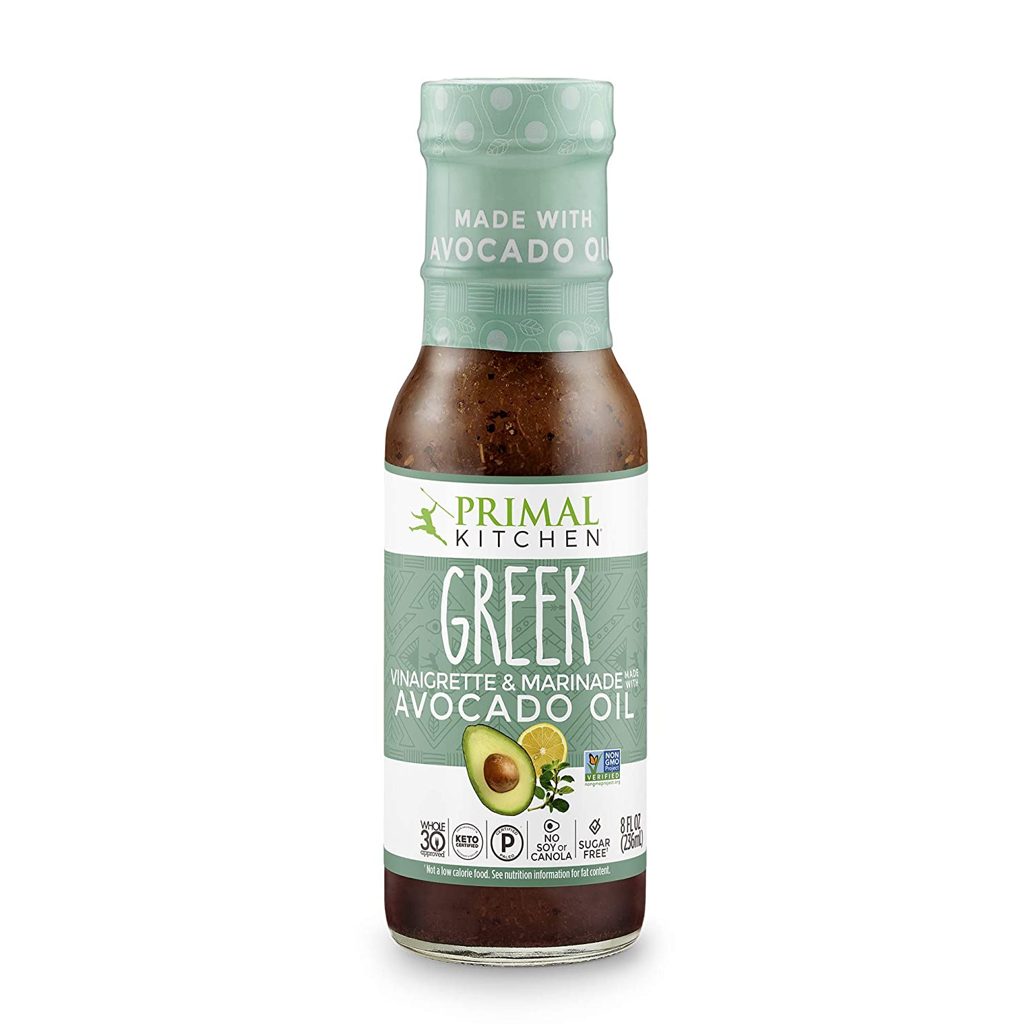 Primal Kitchen - Greek, Avocado Oil-Based Dressing and Marinade, Whole30 and Paleo Approved, Pack of 1