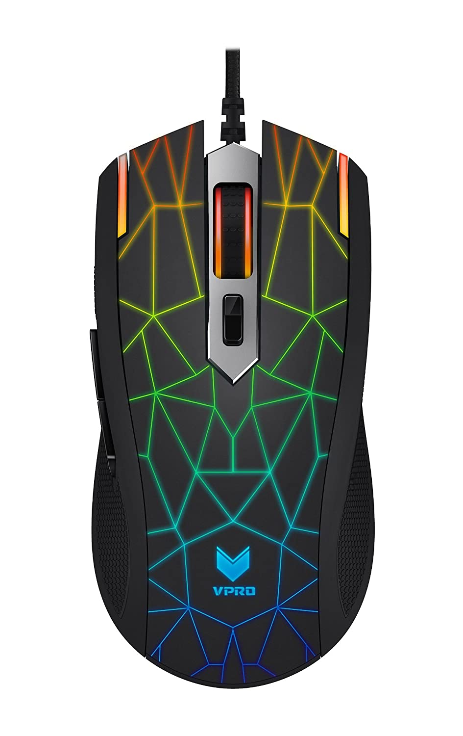 Rapoo V26S Backlit Optical Gaming Mouse