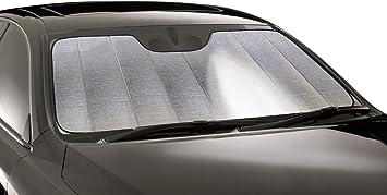 Silver Intro-Tech Ultimate Reflector Custom Fit Folding Window Shade