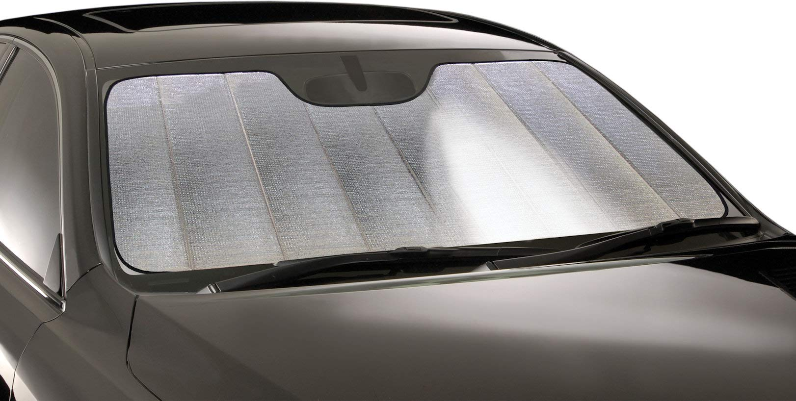 Intro-Tech SU-40A-R Silver Ultimate Reflector Custom Fit Folding Windshield Sunshade for Select Subaru Outback Models, w/Sensor by Intro-Tech Automotive (Image #1)
