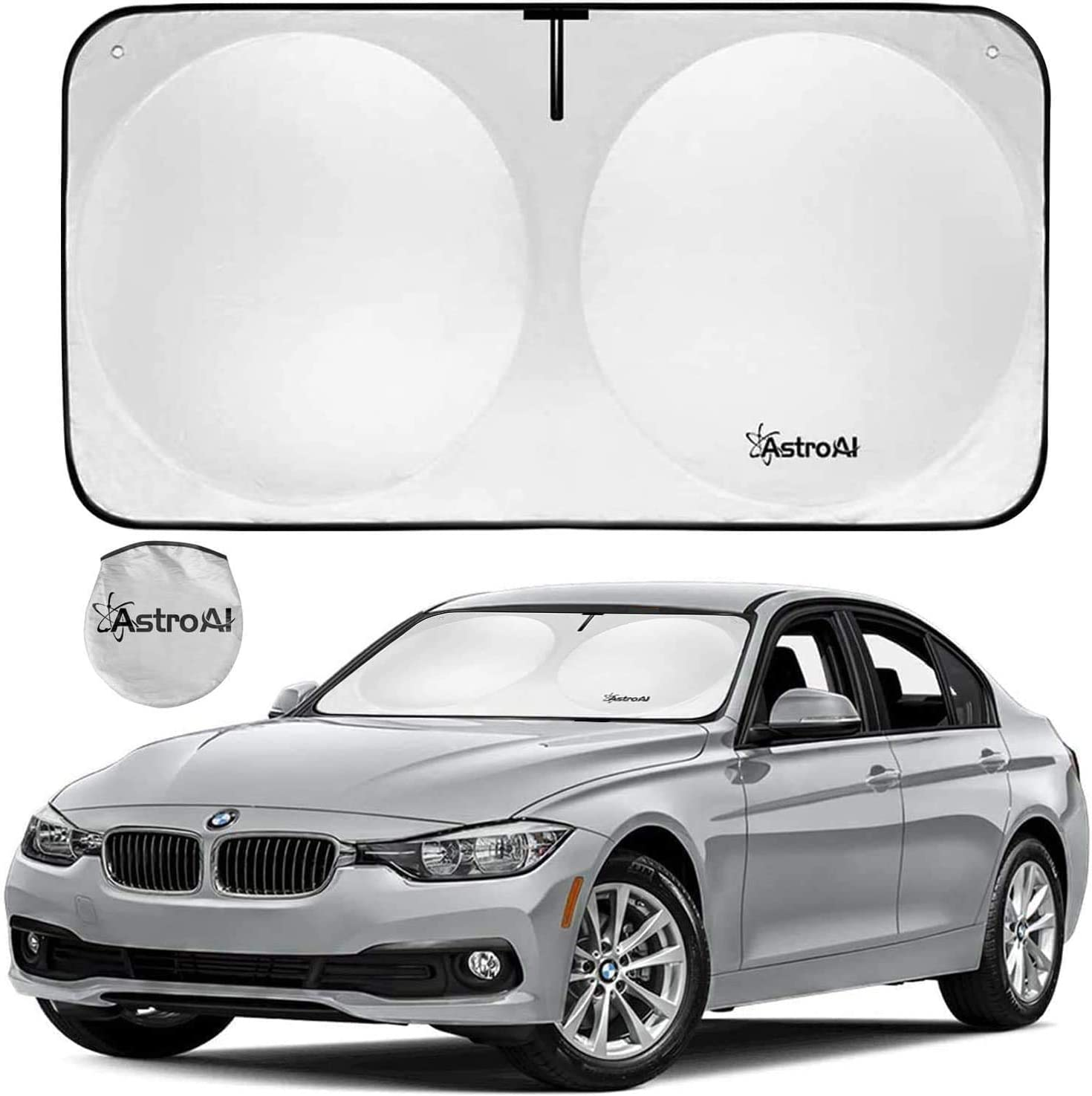 Suitable For Windshields Of Various Sizes Anti-ultraviolet Interior Trim Can Prevent Ultraviolet Rays From Entering The Car Car Sun Shade To Keep The Car Cool Foldable Car Sun Visor