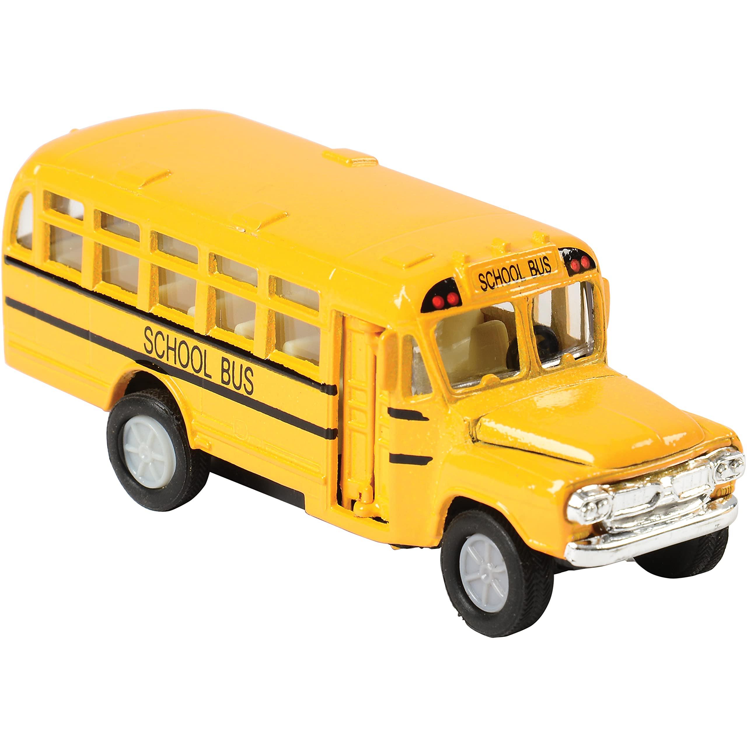 """US Toy Die Cast Metal Toy School Bus, 5"""""""