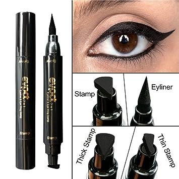 Waterproof Eyeliner Stamp Liquid Pen Cat Eye Wing Thin