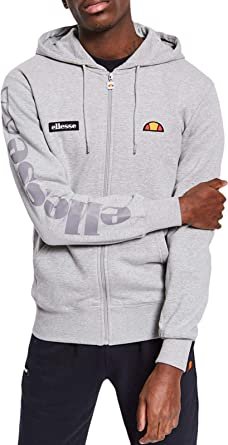 ellesse - Sweat-Shirt à Capuche - Uni - Manches Longues - Homme Noir Noir 888430c37618