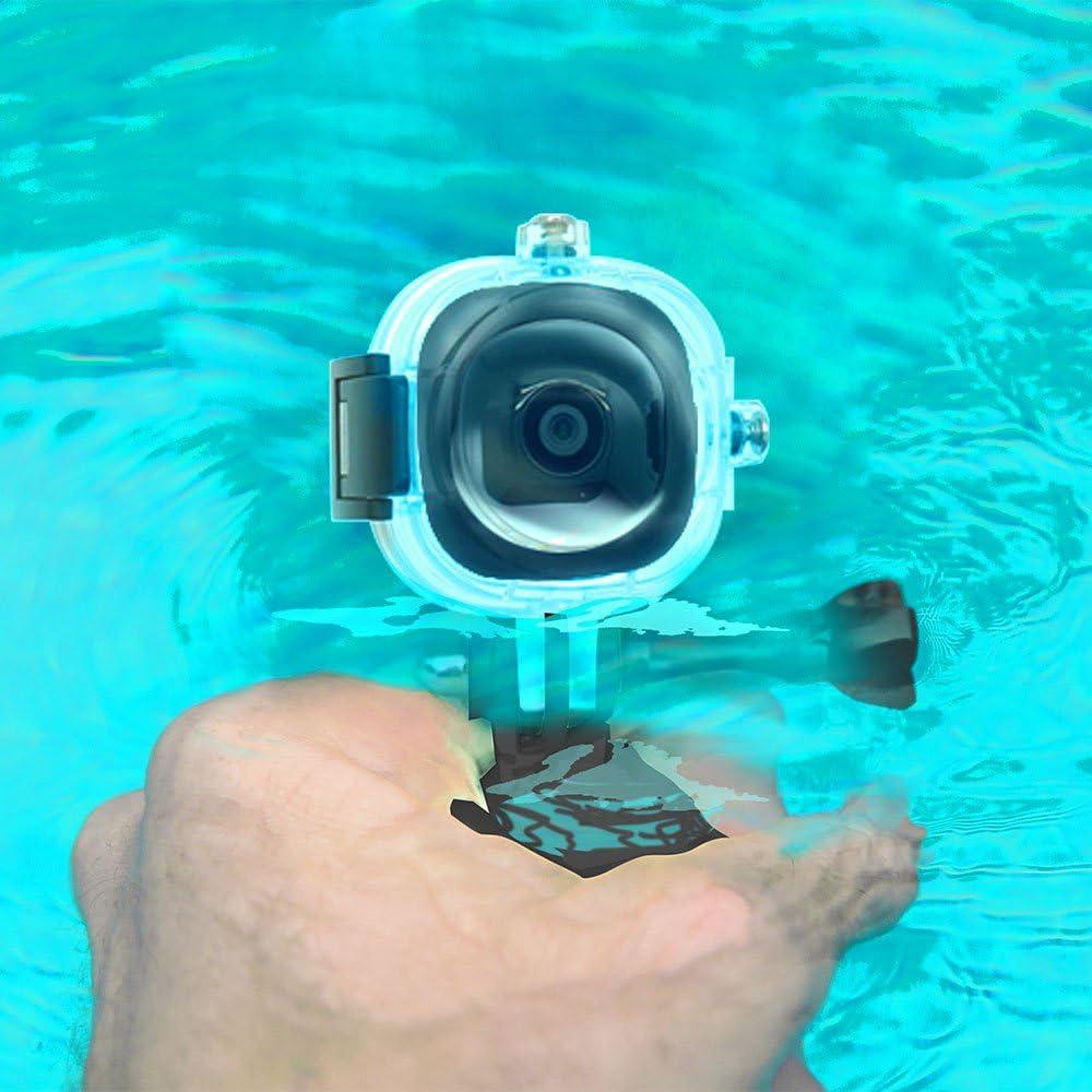 Waterproof Case Bike Mount Helmet Mounts Accessory Bundle for Shanren Pocket Camera