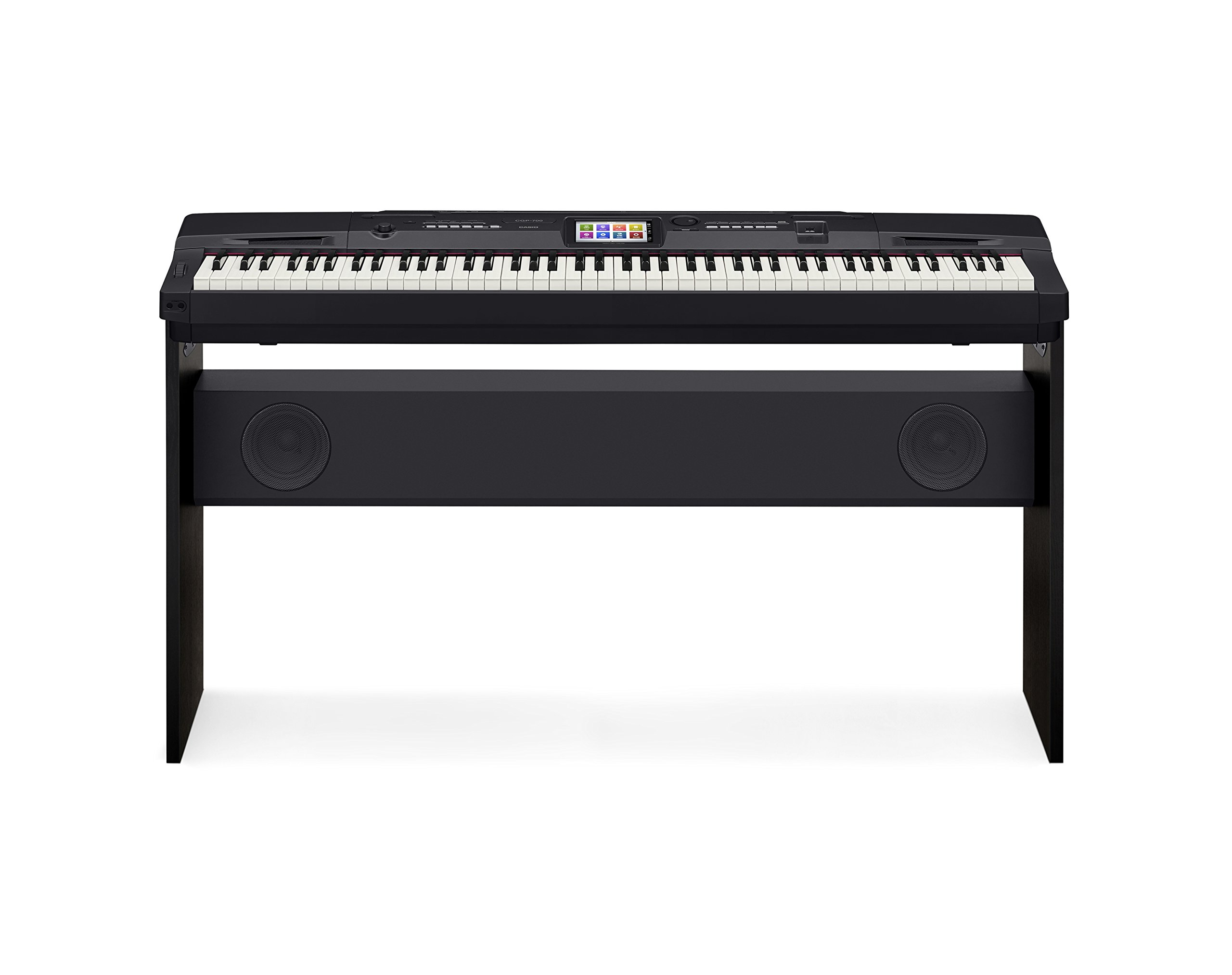 Casio CGP-700BK 88-Key Compact Grand Digital Piano Bundle with Furniture-Style Bench, Dust Cover, Instructional DVD, Instructional Book, Sustain Pedal, and Polishing Cloth - Black by Casio (Image #2)