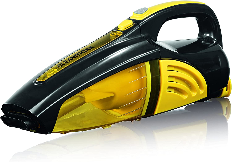 Cleanmaxx 00973 – Aspiradora de mano con batería 2 en 1,/aspiradora de seco/húmedo, 40 W |kabellos | presupuesto Lavado | Amarillo/Negro: Amazon.es: Hogar