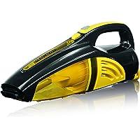 cleanmaxx 00973 - 手持式真空吸尘器,带 2 合 1 电池,湿/干真空吸尘器,40 W a kabellos # 预算清洗,黄色/黑色