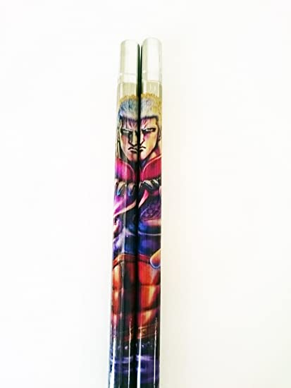 High Quality Anime Chopsticks Hokuto No Ken Raou (Fist of the North Star) Handmade