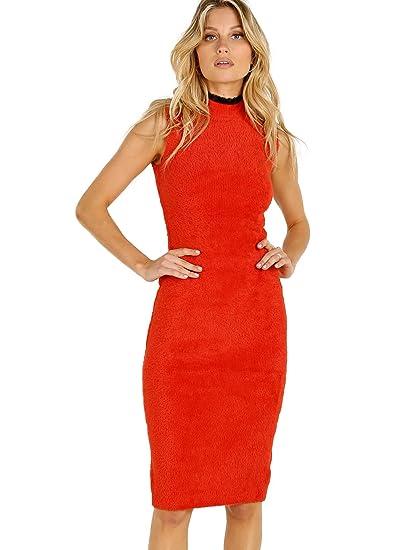 7e87bb5959d Image Unavailable. Image not available for. Color  Splendid X Margherita  Missoni Pluma Sweater Dress Rosso