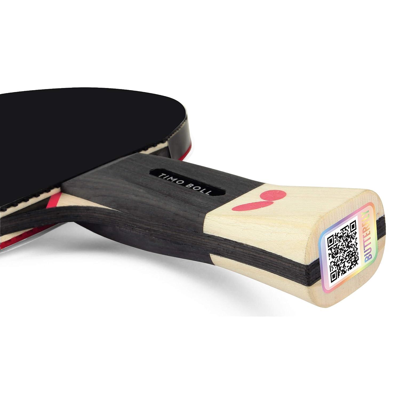 Butterfly SG99 Raquette de Tennis de Table Noir//Rouge