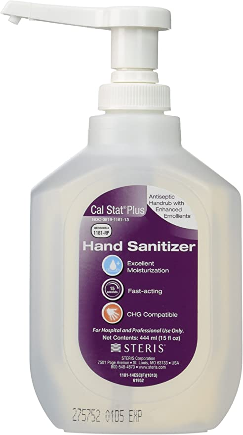 Amazon Com Steris Cal Stat Plus Antiseptic Handrub With Enhanced