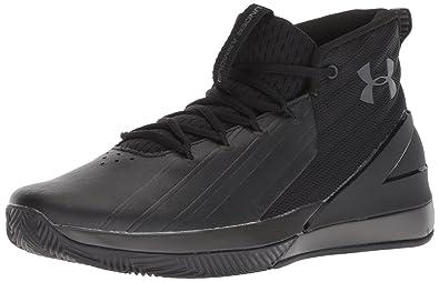 premium selection 047c5 6c9f6 Under Armour Men s Lockdown 3 3020622-001 Basketball Shoes, Black Charcoal  001, 6