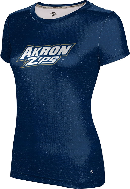 ProSphere University of Akron Girls Performance T-Shirt Heathered
