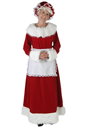 Amazon Funcostumes Womens Plus Size Mrs Claus Costume Clothing