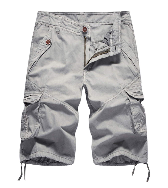Elonglin Pantalón Corto - Cargo - Básico - para Hombre