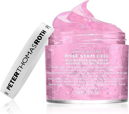 Peter Thomas Roth Peter Thomas Roth Rose Stem Cell Bio Repair Gel Mask, 5 Fluid Ounce Tapones para los oídos 2 Centimeters Negro (Black)