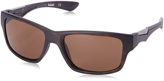 8907ea88724 Timberland Men s TB9078 Polarized Wrap Sunglasses