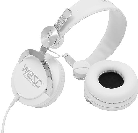 WeSC 7194001 - Auriculares diadema cerrados (3.5 mm), blanco: Amazon.es: Electrónica