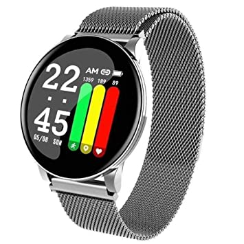 Zenly Fitness Tracker, SmartWatch con Monitor de Ritmo ...
