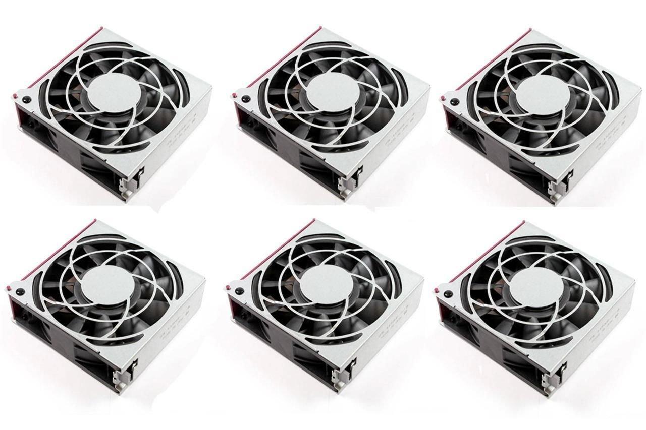 Lot of 6 HP 120mm Hot Plug Fan For ProLiant DL580 G5 443266-001 Delta PFC1212DE