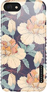 iPhone 8 & iPhone 7 & iPhone SE [2020 Released] Case Vintage Floral, Akna Sili-Tastic Series High Impact Silicon Cover for iPhone 7/8 & iPhone SE [2020 Released] (101787-U.S)